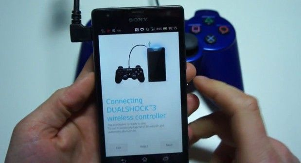 Podrás usar el mando DualShock 3 de PS3 para jugar en PlayStation Mobile de smartphones XPERIA 31