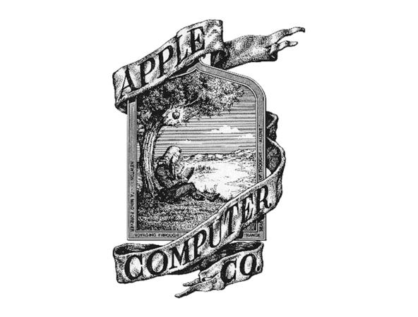 1 primer logo Apple