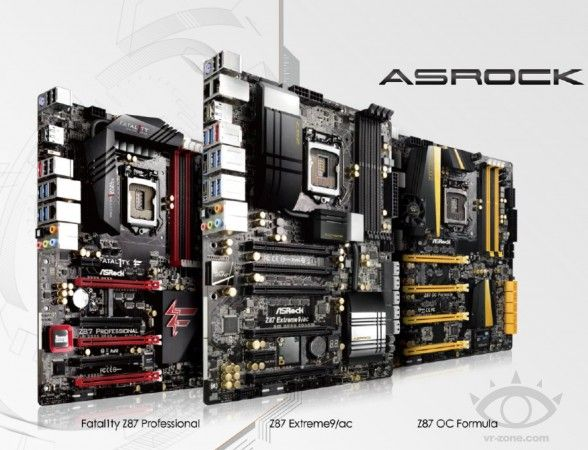 Detalles de la línea de placas base ASRock Z87 36