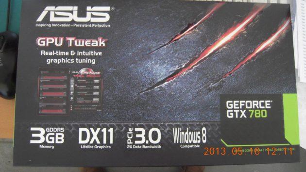 caja ASUS GTX 780