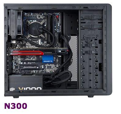 Cooler Master N300 y N500: nuevas, completas y económicas cajas 32