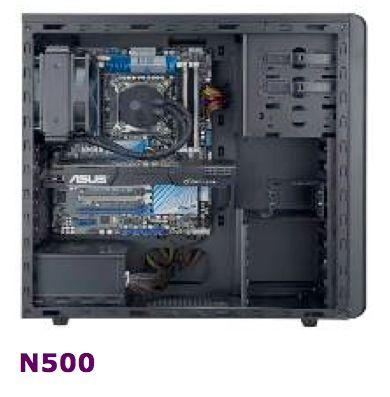 Cooler Master N300 y N500: nuevas, completas y económicas cajas 33