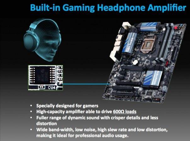 GIGABYTE apuesta por el audio de calidad en las placas base para la 4ª generación Intel Core