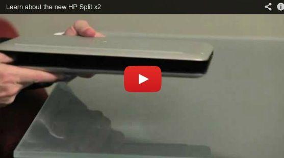 HP Split X2, portátil híbrido Windows 8 30