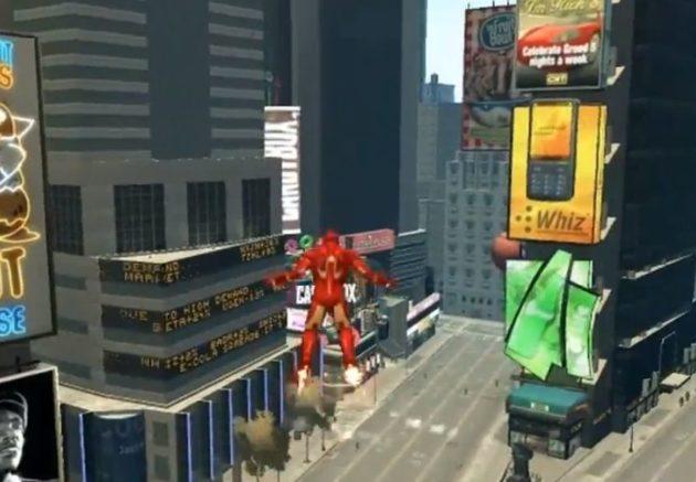 Mod Iron Man para GTA IV
