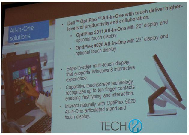 Dell OptiPlex 9020, AIO con Haswell y Windows competencia al iMac