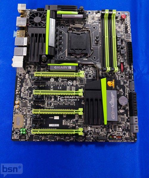 GIGABYTE muestra su nueva y completa línea de placas base Z87 37
