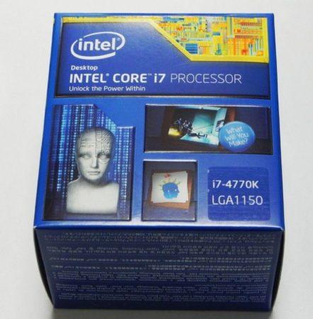 Esta será la caja de los nuevos Intel Core i7 4770k -Haswell-