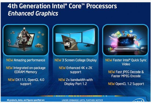 Intel detalla su próxima generación gráfica: HD 5000 'Iris' 36