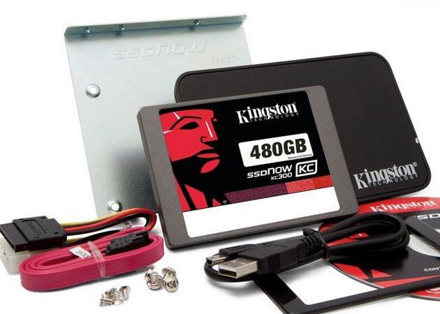 Kingston presenta las SSDNow KC300