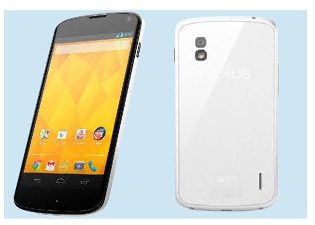 LG confirma lanzamiento del Google Nexus 4 blanco