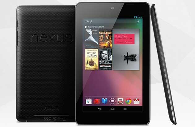 El nuevo tablet Google Nexus 7 llega el próximo mes