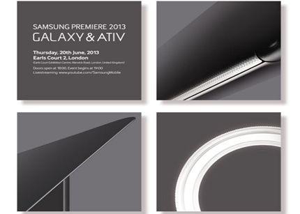 Samsung Premiere 2013: GALAXY & ATIV