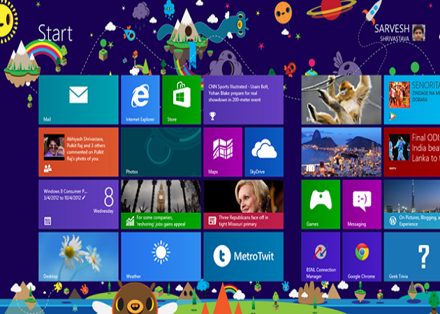 La satisfacción de usuarios de Windows 8 cae al nivel de Windows Vista