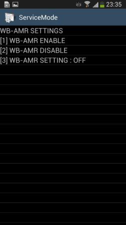 Activa soporte de voz HD en tu Galaxy S4 34
