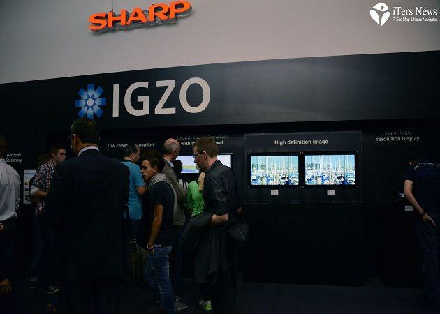 Sharp también sufre su dependencia de Apple
