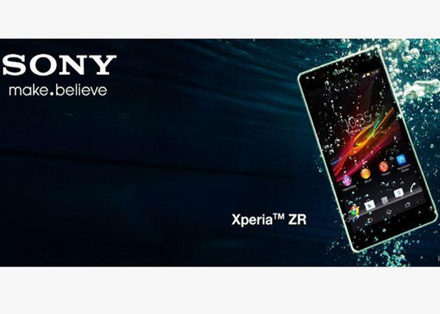 Sony Xperia ZR, como pez en el agua 29