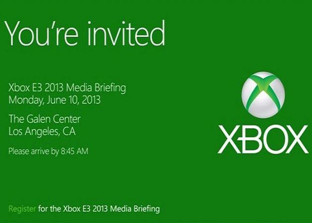 Evento Xbox 720 en el E3, disponibilidad en navidades