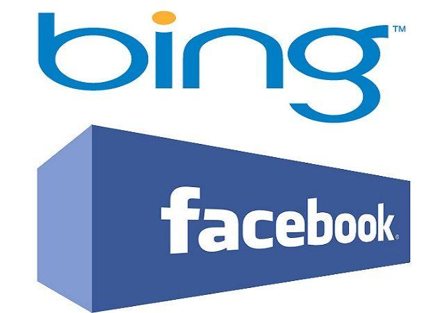 """Bing muestra ahora publicaciones y """"me gusta"""" de Facebook en sus resultados"""