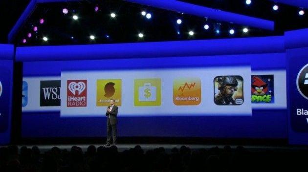 Apps nuevas para BB