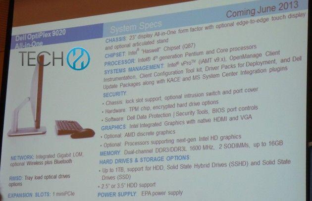 Dell OptiPlex 9020, AIO con Haswell y Windows competencia al iMac 32