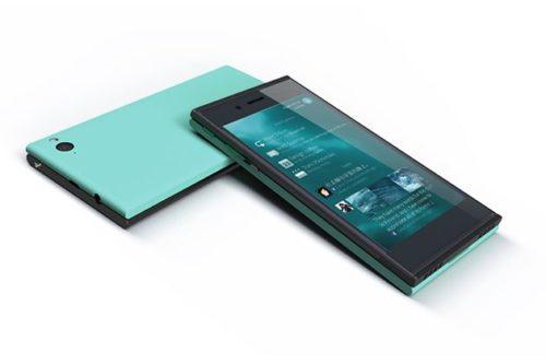 Primer smartphone Jolla con sistema Linux Sailfish OS