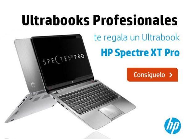 ¡Consigue un HP Spectre XT Pro con Ultrabooks Profesionales!