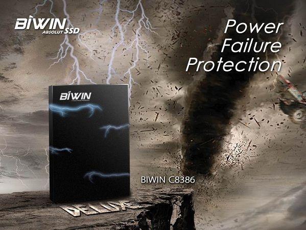 BIWIN anuncia su SSD C8386: protegido contra fallos de alimentación