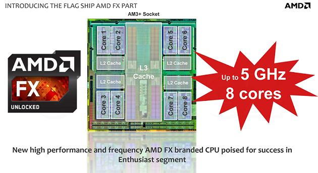 AMD confirma los FX-9590 y FX-9370: ocho núcleos y 5 GHz