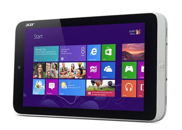 Acer Iconia W3, primer tablet medio formato Windows 8