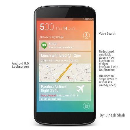 interfaz 1 conceptual render Android 5.0