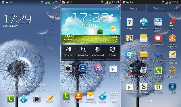 Filtrado Android 4.2.2 para Galaxy SIII (vídeo)