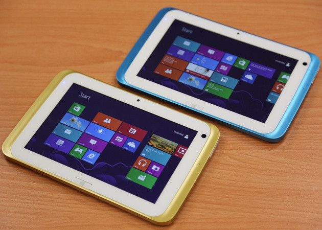 Primer tablet Windows 8 de 7 pulgadas