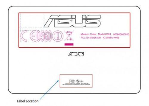 Tablet Nexus LTE en el FCC como ASUS K009