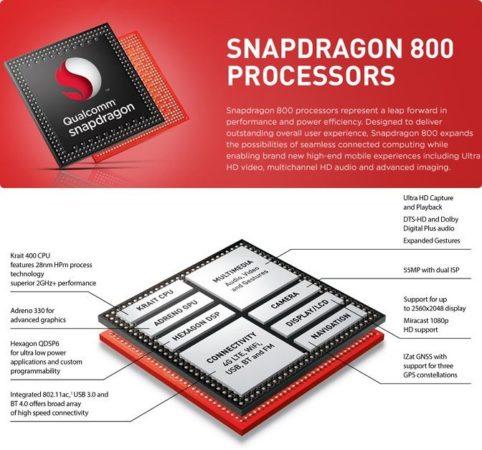 LG Qualcomm SP 800 11 oled