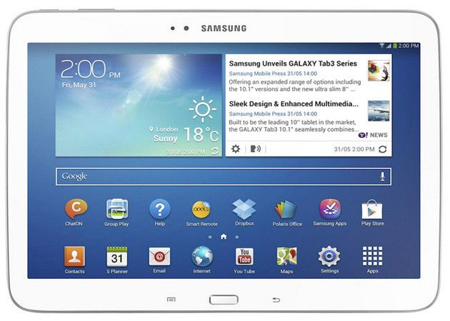 Samsung anuncia Galaxy Tab 3 de 8 y 10 pulgadas