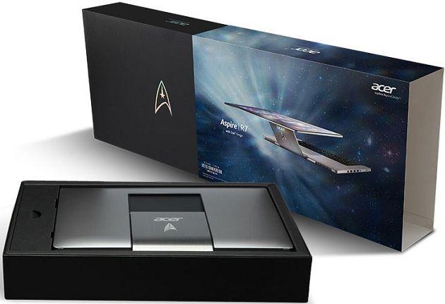 Acer subastará un portátil Aspire R7 edición limitada Star Trek