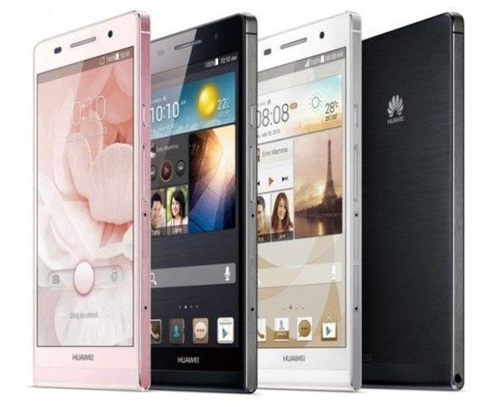oficial ascend p6 huawei