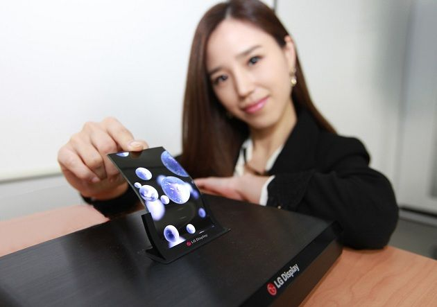 LG producirá pantallas flexibles OLED HD en masa para finales de año