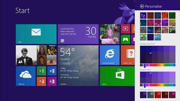 11 nueva interfaz Windows 8.1