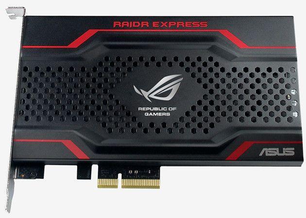 ASUS RAIDR Express, SSD PCIe con soporte UEFI