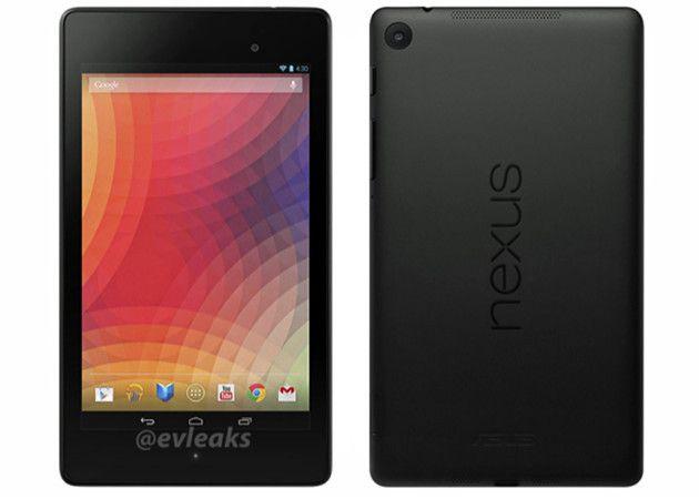 Nuevo Nexus 7: imagen de prensa y anuncio Best Buy
