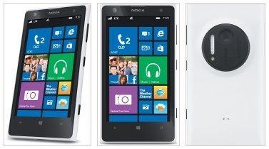 3x Lumia 1020 blanco
