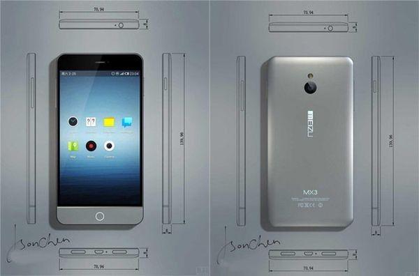 Meizu MX3: estética iPhone, corazón Exynos y pantalla de 5″