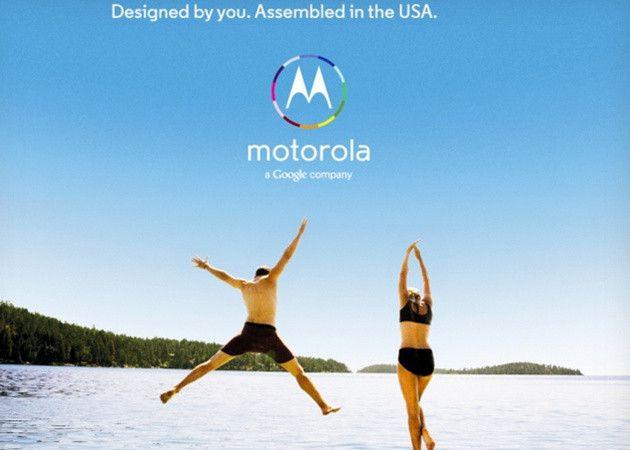 Motorola Moto X: diséñate tu propio smartphone