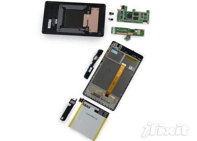 iFixit desmonta el nuevo Nexus 7 con buenas noticias