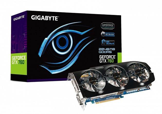 Gigabyte lanza GTX 760 con Windforce 3X en versiones de 2 GB y 4 GB