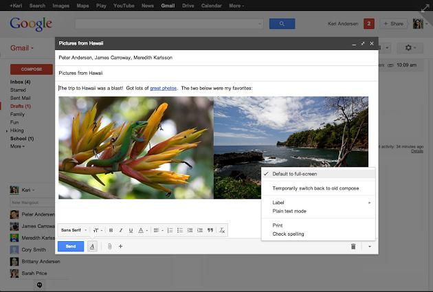 3 ventana de redaccion Gmail 1 expandida 3