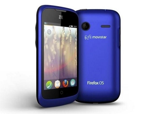 Movistar comercializa ZTE Open, smartphone con Firefox OS