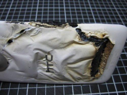 22 HTC One X quemado portada imgx231fg